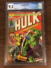 Incredible Hulk # 181  CGC 9.2 WHITE Pages