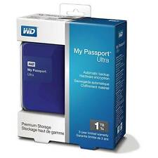 Western Digital Wd My Passport Ultra 1Tb/1000Gb Portable External Hard Drive