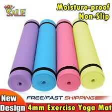 183cm Thick Yoga Mat Fitness Meditation Exercise Camping Gym Pad Non-Slip