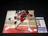 BINJIMEN VICTOR OHIO STATE BUCKEYES SIGNED 8X10 PHOTO W/JSA COA SD617217