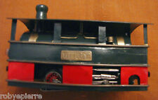 Trenino elettrico Milano Toy Train Gamba de Legn locomotiva HO made in germany