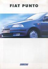Fiat Punto Prospekt 3/94 8 S. brochure 1994 Auto PKW Broschüre Italien Werbung