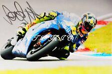 Signiertes Foto von Valentino Rossi  ITA 13 x 18