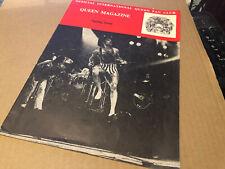 More details for queen spring 1977 rare original fanclub magazine excellent
