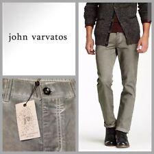NEW $398 NORDSTROM | John Varvatos Italy Men's Slim Fit Jeans Olive Leaf 30 x 34