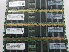 4 x HP 1GB ECC DDR SDRAM PC2100  PN A6969AX SERVER MEMORY