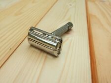 Vintage Gillette FLARE Punta Rocket Estampado II Safety Razor 1960s Brit. Pat 694093