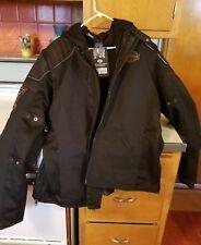 Harley-Davidson Motorcycle Convertible Mesh Riding Jacket coat rain daytona bike