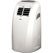 LG 10,000 Btu 115V Portable Air Conditioner with Remote Control in White NEW