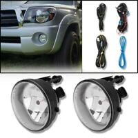 Bumper Fog Lights Lamps w/Bulbs+Switch For 2005-2011 Toyota Tacoma Pickup
