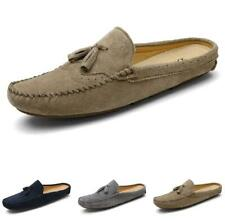 Mens Flats Slingbacks Slippers Loafers Shoes Tassels Breathable Pumps Slip on L