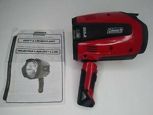 Coleman CPX 6 Ultra High Power LED Flashlight Spotlight - Red