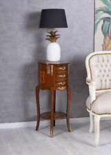 Nightstand Baroque Bedside Table Dresser Night Console Side Table Wood Console