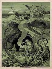 Pubblicità rivista culturale copertura JUGEND alle streghe Brew poster art print bb4629b