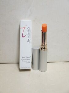 JANE IREDALE JUST KISSED LIP AND CHEEK STAIN FOREVER PEACH 0.1 OZ BOXED DETAILS