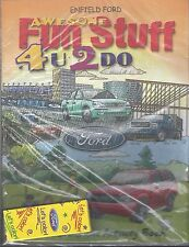 Ford Fun Stuff Coloring Book With Crayons New Unopened News Old