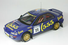 1:18 Subaru Impreza 555 - Richard Burns - Rallye Neuseeland 1994 - Sunstar 5504