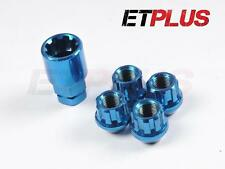 Blue Open Locking Wheel nuts Steel 12x1.5 Fits ISUZU TROOPER RODEO