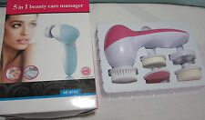 5 in 1 Beauty Care Set Facial Cleaner all skin Body Massager Foot care More New