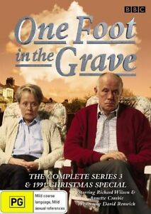 One Foot In The Grave: Series 3 (DVD, 2-Disc Set) with Christmas Special - R 4