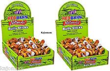 25 Red Barn BULLY SPRINGS *FRESH* Natural Sticks Chews SPIRALS Dental Treat