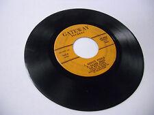Roy Cliffs Adeste Fidelis + 3 45 RPM vinyl Gateway Records VG+
