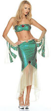 Principessa Ariel Sirenetta vera LEG Avenue Costume UK 10-12 PESCE MARE