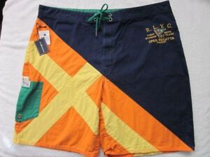 Ralph Lauren Swim Board Trunks NWT 34