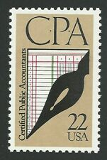 1987 CPA Certified Public Accountants Accounting US Postage Stamp MINT CONDITION