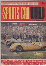 Sports Car World 1963 Nov Sunbeam MGA Healy Falcon V8 MGA Austin Healy 7 Lea Fra
