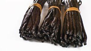 Gourmet - Bourbon - Grade A - Prime Vanilla Beans from Madagascar (6 Inch +)