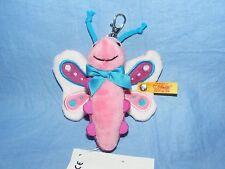 Steiff Keyring Butterfly Pendant 112461 Brand New Gift Present Handbag Charm