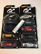 Gran Turismo Hot Wheels * Complete 8 Car Set * Skyline, Lambo, Pagani & More!
