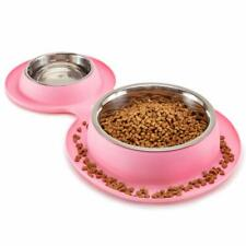 New listing Petfactors Fda Certified Dog Bowls Stainless Steel Dog Food Bowl with No Spills