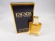 Escada Pour Homme Eau de Parfum Splash Mini 0.16 oz - New in Box - Unused - RARE