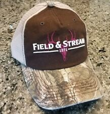 Field & Stream Hat Cap Snapback Camo Trucker Mesh New Hunting Archery Deer