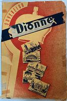 Vintage 1930's-1940's Dionne Quintuplets Scrapbook