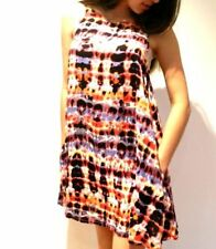 Machine Washable Geometric Regular Size Dresses Tunic/Smock Dress