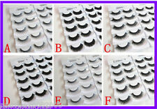 BUY 1 GET 1 FREE Top Quality Handmade False Fake Eyelash Extensions In 6 Styles