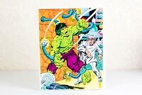 Rare Vintage Whitman Puzzle 1983 The Incredible Hulk Jigsaw Puzzle, 100 Pieces