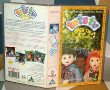 Tots TV, Super Tiny & Other Stories - Children's VHS Video Tape Vintage Classic