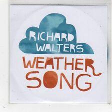 (FW514) Richard Walters, Weather Song - 2009 DJ CD