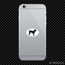 Cane Corso Euro Oval Cell Phone Sticker Mobile Die Cut