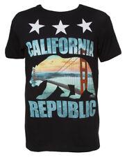 Gravity Threads California Republic SF Golden Gate Bridge T Shirt