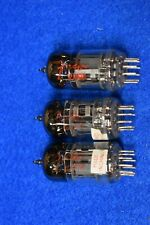 12AX7 Fender Audio Receiver Preamplifier Vacuum Tubes Tested Trio