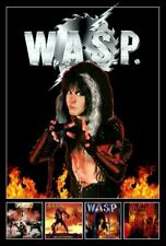 Wasp Albums Blackie Lawless Stand-Up Display - Metal Shock Rock Band