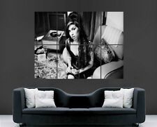 AMY WINEHOUSE POSTER MUSIC SINGER LEGEND ART PICTURE PRINT LARGE
