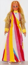 Vintage Dawn Clone 8 in. Mego Dinah-Mite Doll with Clothing and Shoes! Lot A1
