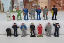 Lot Of 12 Vintage 1950's S Gauge & O Gauge Die-cast Metal Railroad Figures +More