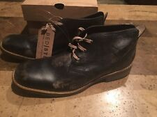 New !! Bed Stu Men's Draco Distressed Leather Black Hand Wash Boot Size 12